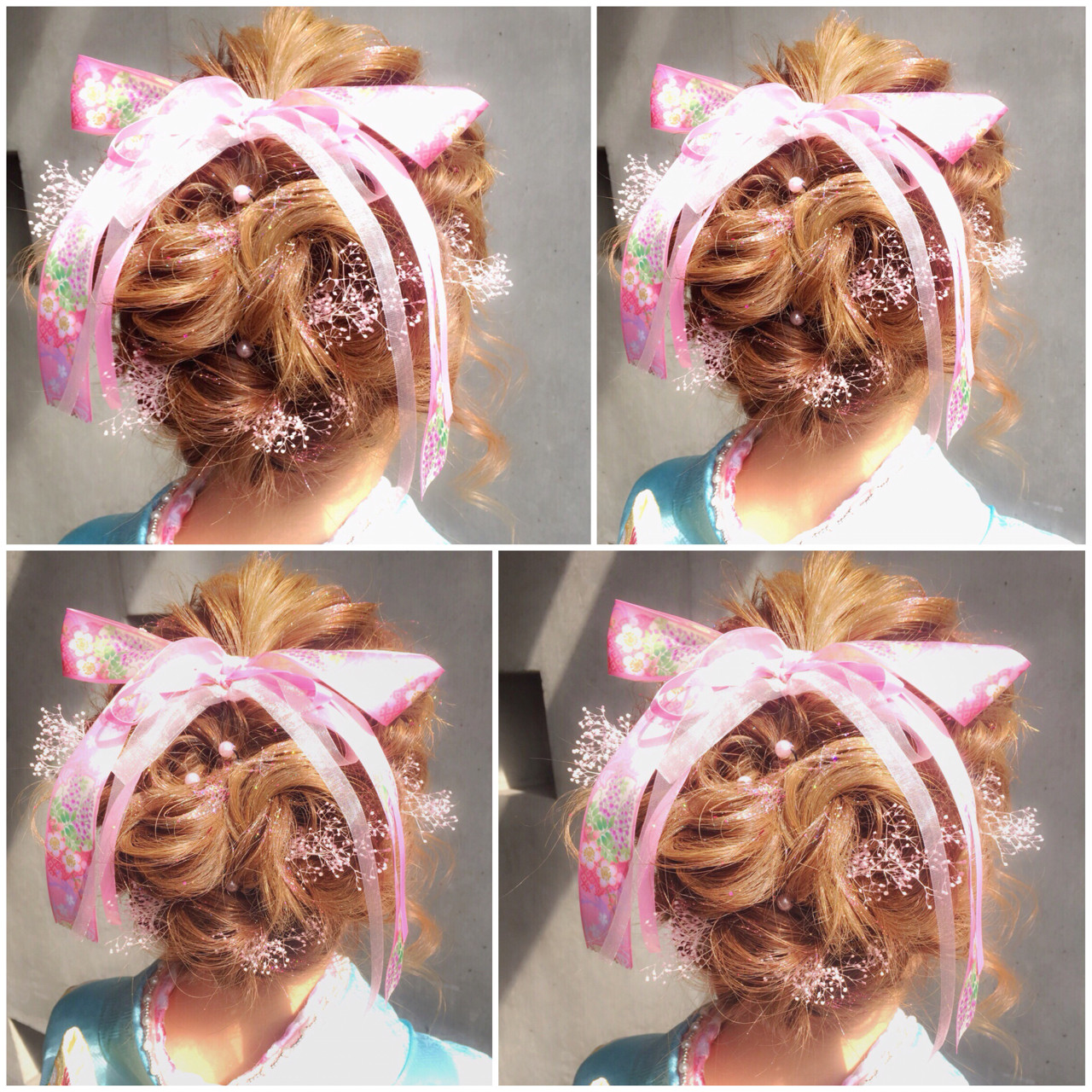ハーフアップ ショート 簡単ヘアアレンジ ミディアム ヘアスタイルや髪型の写真・画像   MOTAI / Wille / Wille