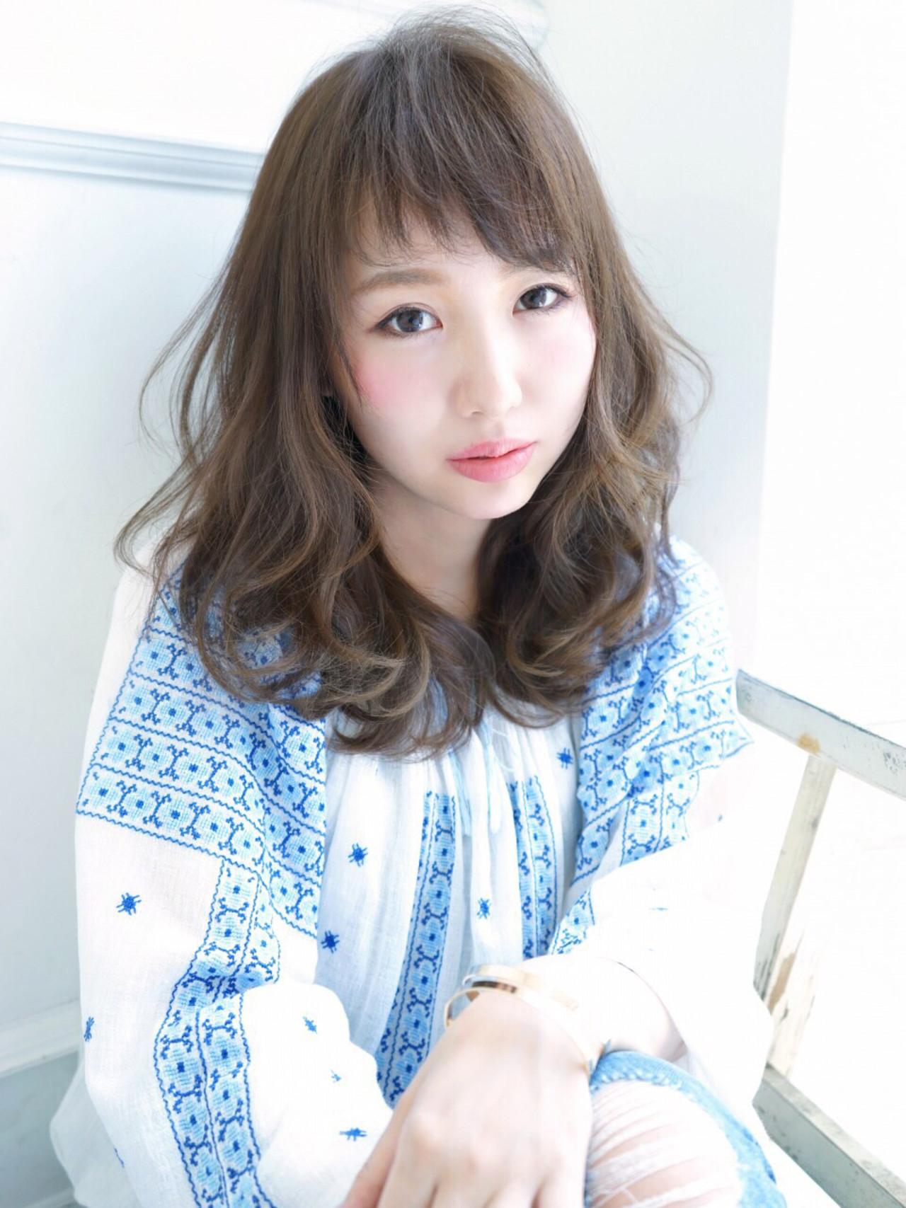 好印象をGETしたい!初心者でもできる前髪ヘアアレンジ yuko