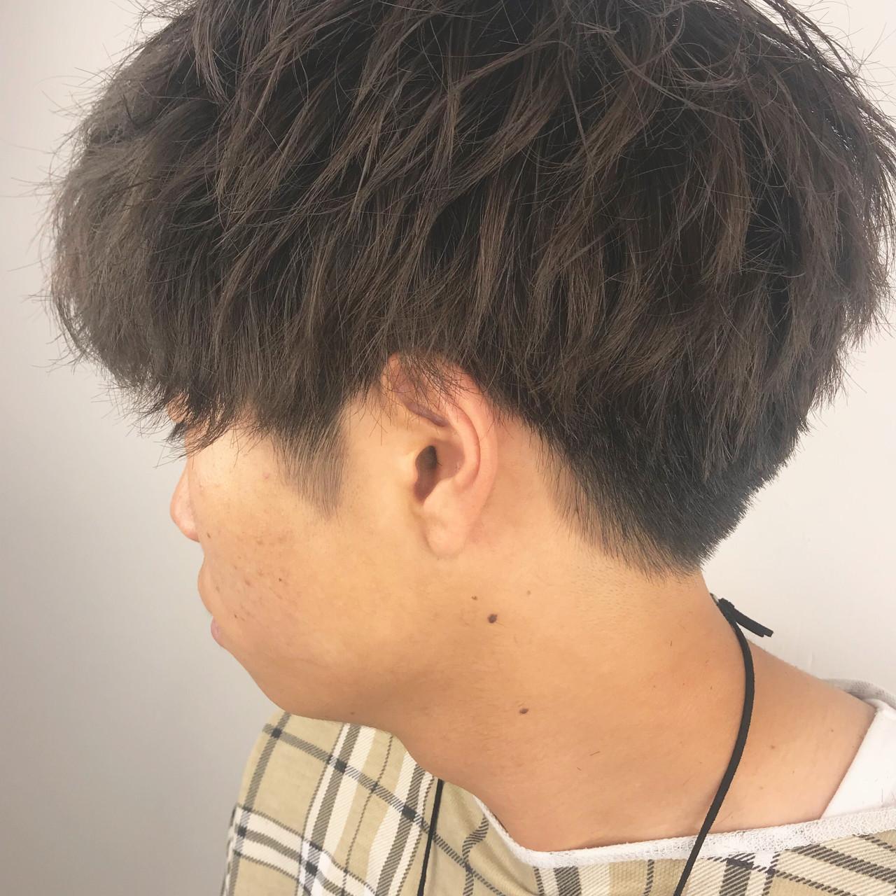 メンズパーマ メンズカット ショート ストリート ヘアスタイルや髪型の写真・画像   坂本高秀 / CHIANTI梅田