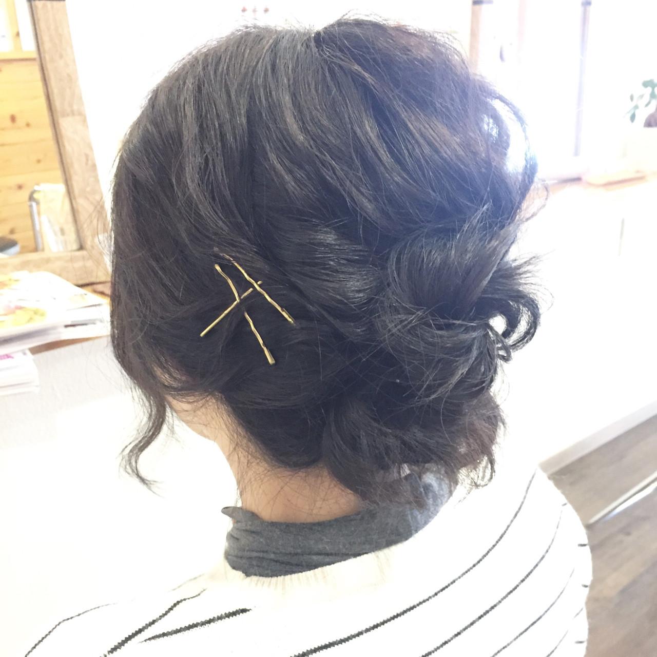 ナチュラル 大人女子 アッシュ お団子 ヘアスタイルや髪型の写真・画像 | manami iwamoto \こあふーるのの / こあふーるのの