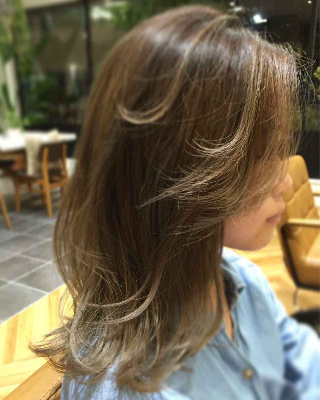 ハイライト ストリート ロブ 外国人風 ヘアスタイルや髪型の写真・画像 | 金本潤 / chord/HONEYbychord