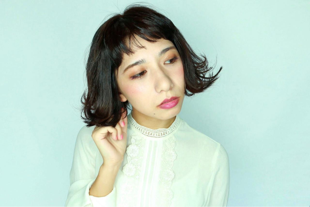 おしゃれ女子が夢中になる♡メイクが映える「黒髪ボブ」まとめ Muramatsu takeshi