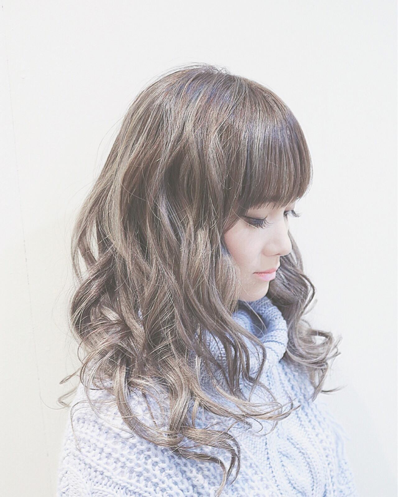 ストリート 大人かわいい ハイライト 外国人風ヘアスタイルや髪型の写真・画像