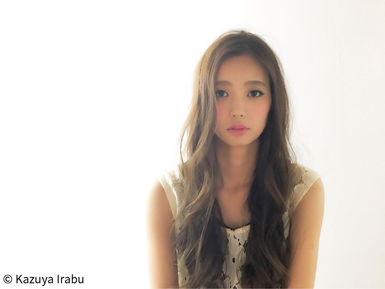 フェミニン 大人かわいい アッシュ コンサバ ヘアスタイルや髪型の写真・画像   Kazuya Irabu / アービング