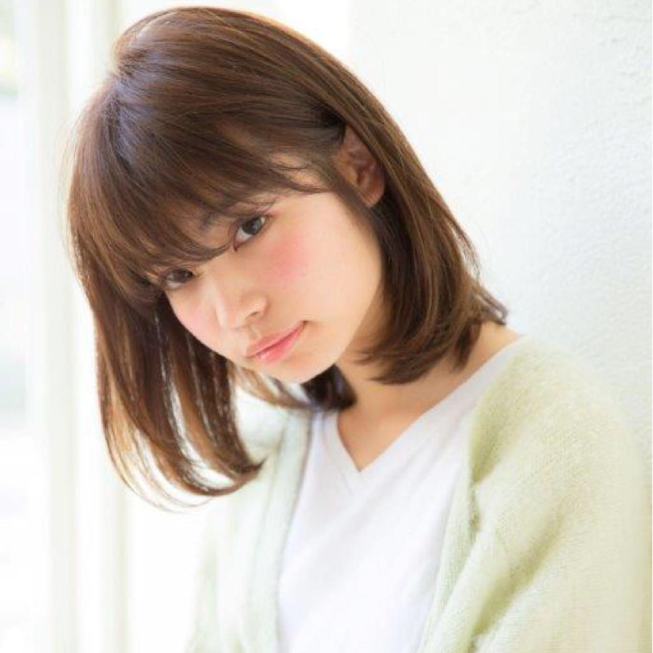 透け髪にキュンッ♡前髪だけじゃない、シースルーボブが今キテル理由。 増永 剛大 / Un ami