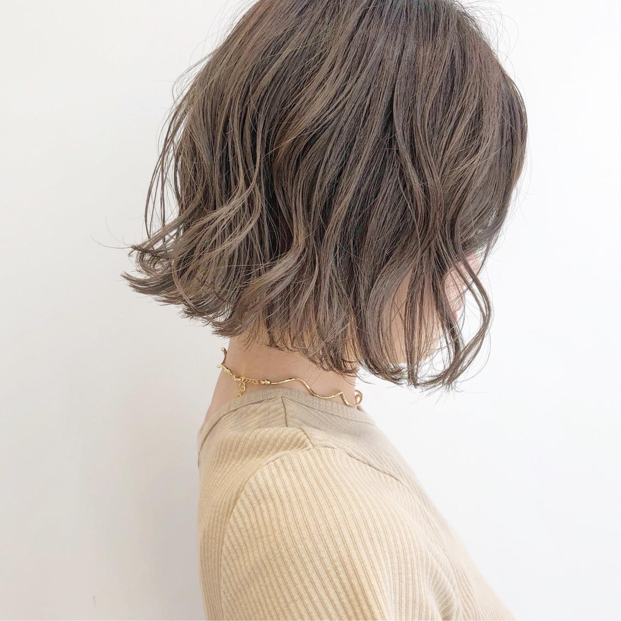 ナチュラル ミニボブ ショートボブ 切りっぱなしボブ ヘアスタイルや髪型の写真・画像 | 『ボブ美容師』永田邦彦 表参道 / send by HAIR