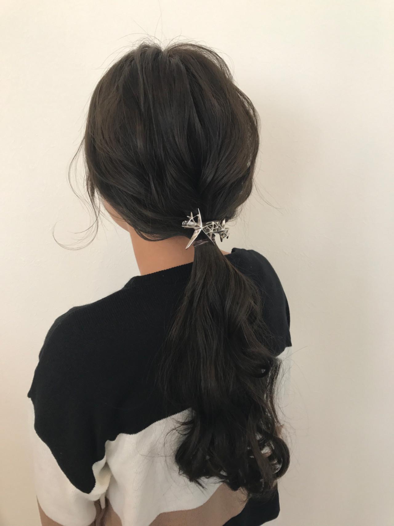 こなれ感 ロング 小顔 大人かわいい ヘアスタイルや髪型の写真・画像   宇渡 裕一 / Lillie hair&spa