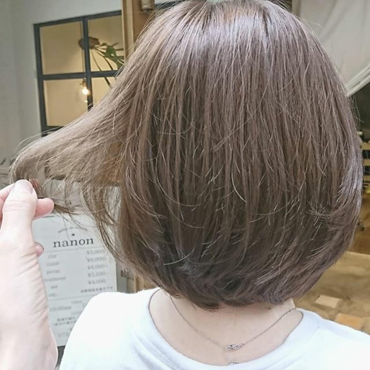 ナチュラル ゆるふわ 大人かわいい ショート ヘアスタイルや髪型の写真・画像 | 浦川由起江 / nanon