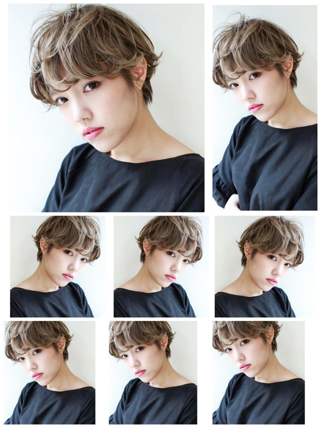 ナチュラル ショート パーマ 外国人風 ヘアスタイルや髪型の写真・画像 | 高沼 達也 / byトルネード / トルネード