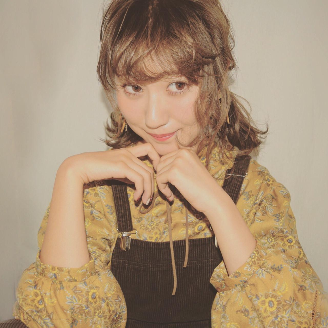 ヘアアレンジ 色気 大人かわいい ツインテール ヘアスタイルや髪型の写真・画像 | 徳田 誠也 / HOEKHOEK