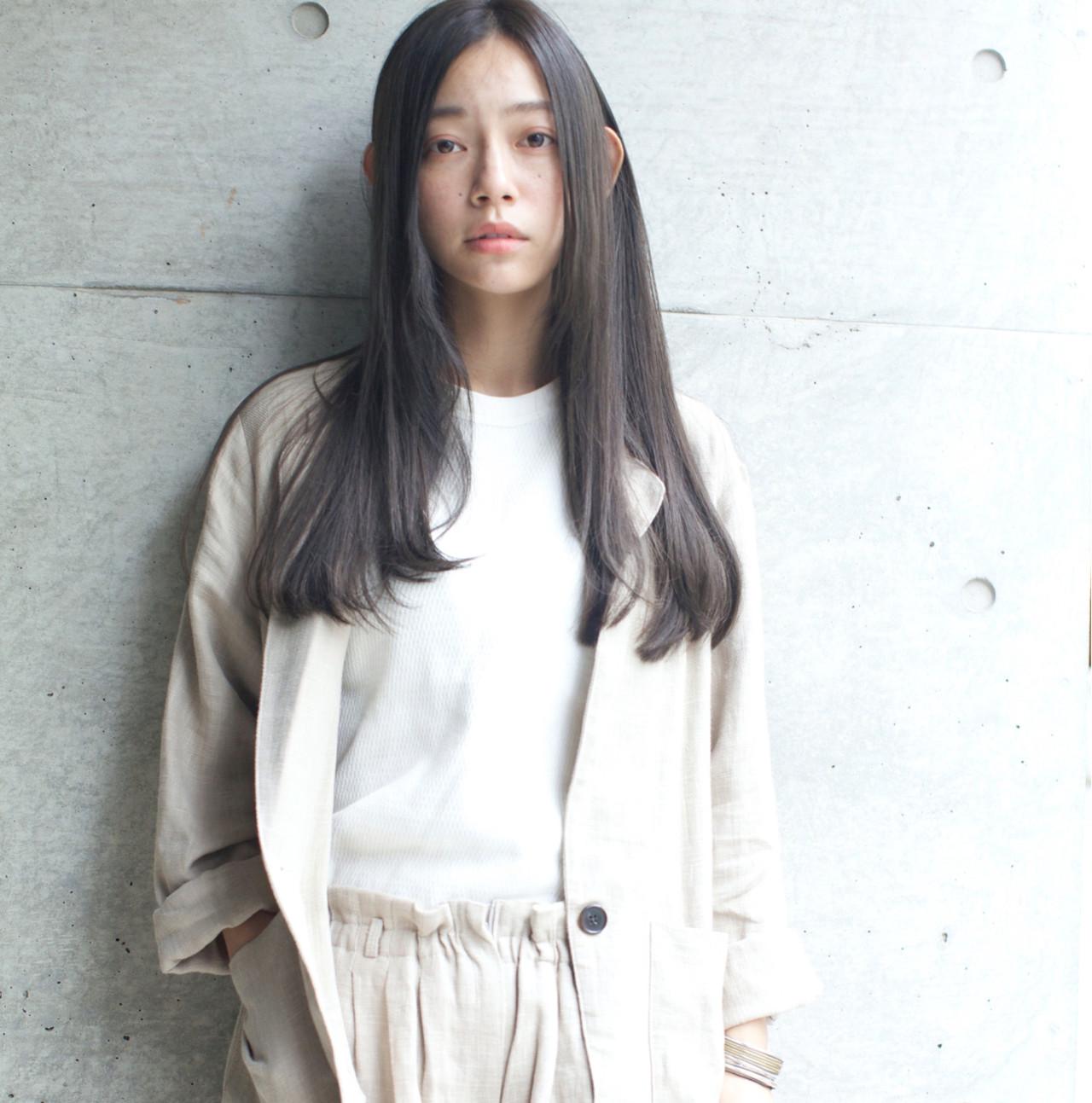 外国人風カラー 外国人風 ナチュラル グレージュ ヘアスタイルや髪型の写真・画像 | 佐脇 正徳 / LOAVE AOYAMA(ローヴ アオヤマ)