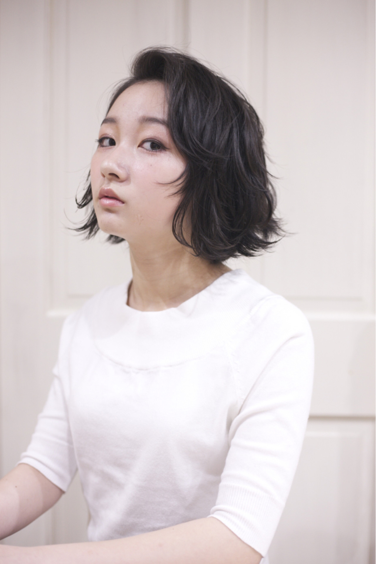 黒髪×パーマで作る媚びない夏の大人女子特集♡ 北河 潤