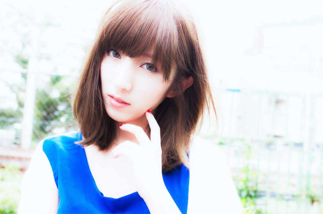 ミディアム 秋ヘアスタイルや髪型の写真・画像