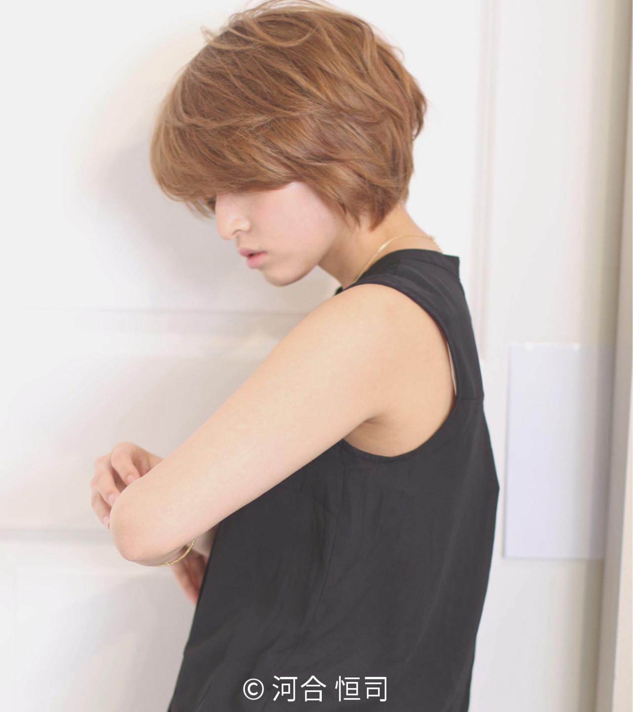 デート オフィス ショート こなれ感 ヘアスタイルや髪型の写真・画像 | KOJI / ケート ke-to.beautyhair