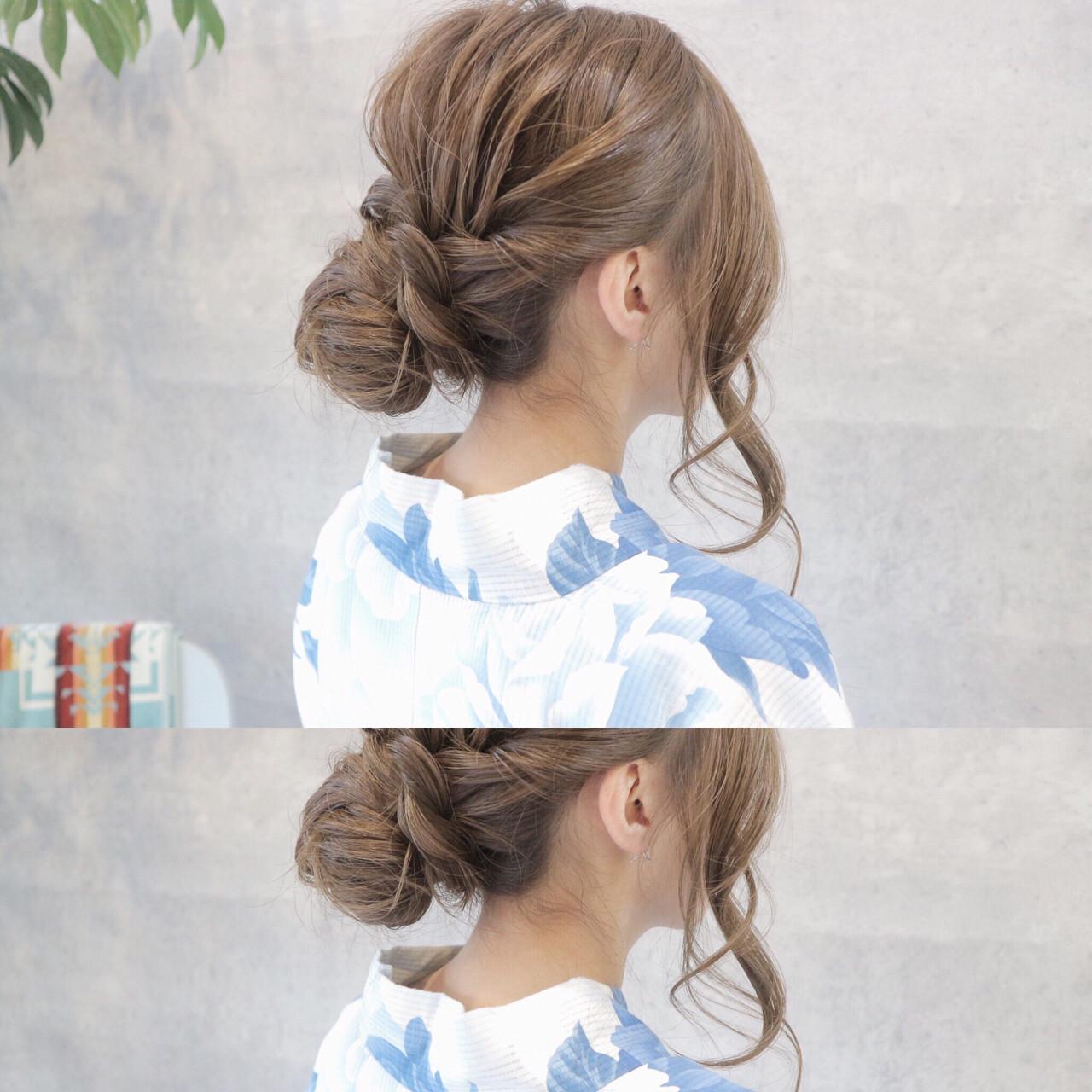 お祭り 花火大会 ロング 色気 ヘアスタイルや髪型の写真・画像 | 桑村亮太/CALIF hair store / 函館/CALIF hair store/キャリフ ヘアストア