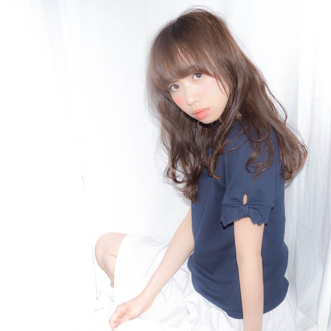 モテ髪 大人かわいい 愛され フェミニン ヘアスタイルや髪型の写真・画像 | 徳田 誠也 / HOEKHOEK