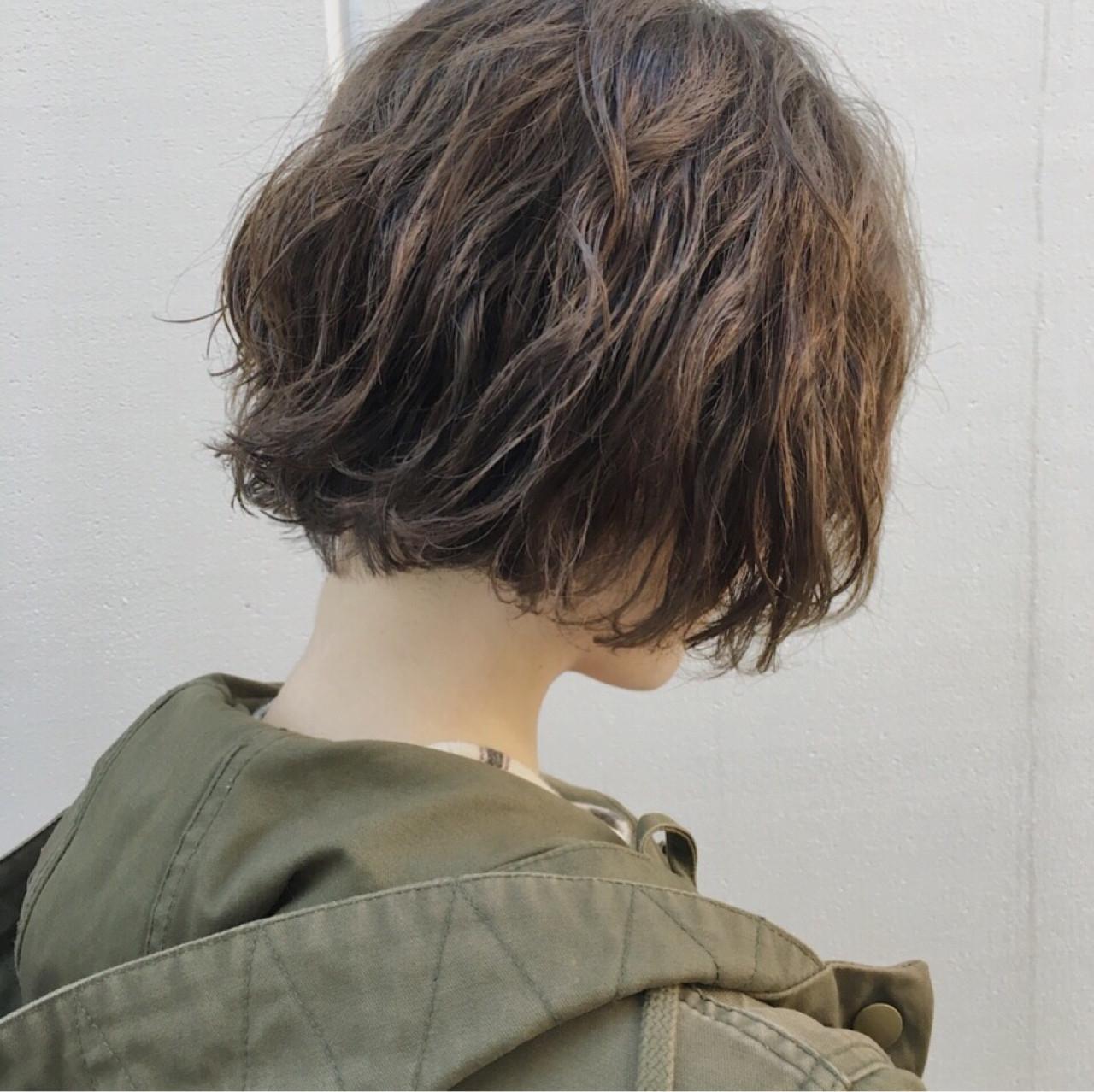 ショート ショートボブ 抜け感 モード ヘアスタイルや髪型の写真・画像 | 野口勇樹【ノースタイリングボブ】 / GO TODAY渋谷