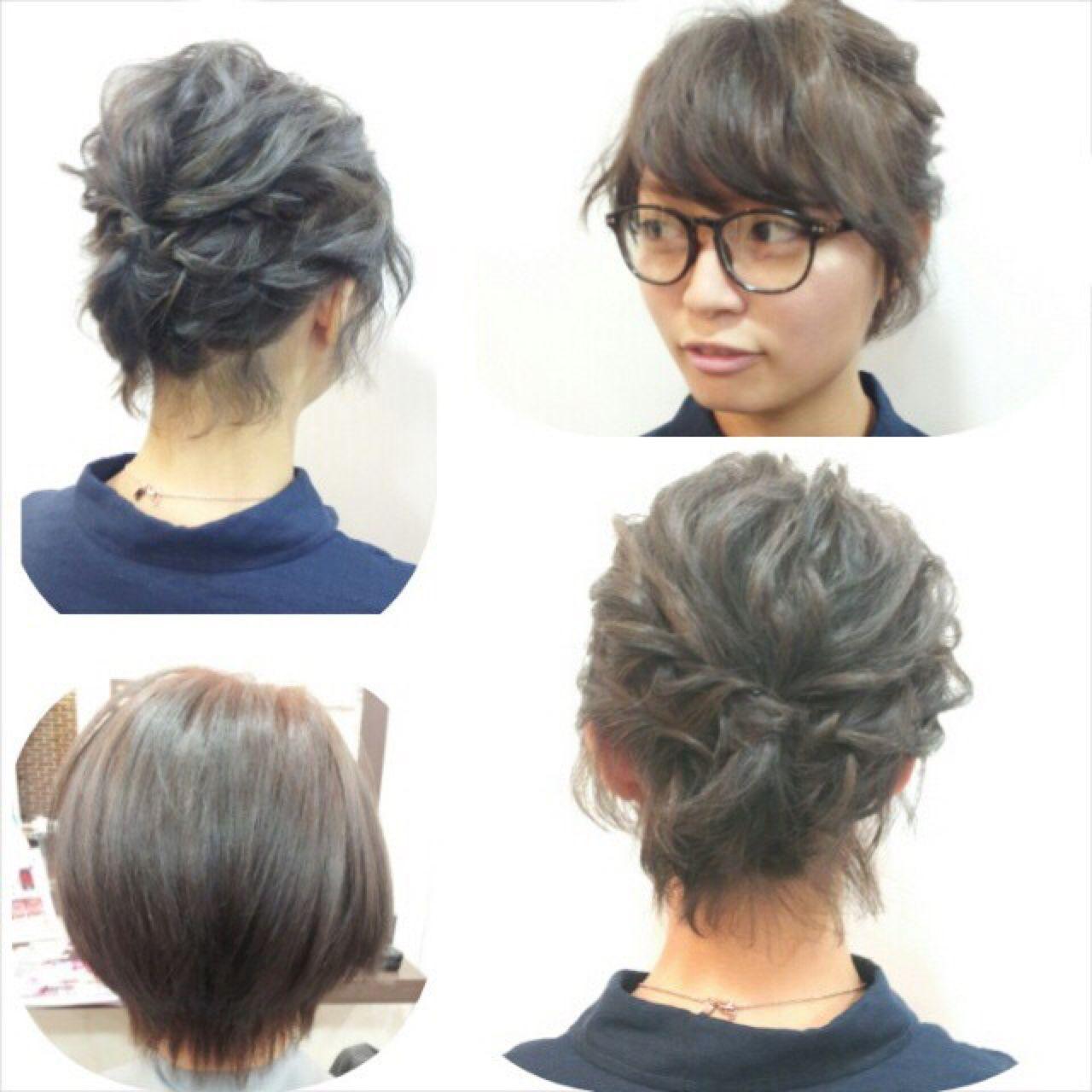 成人式 まとめ髪 コンサバ ヘアアレンジ ヘアスタイルや髪型の写真・画像 | 木村 達沖 / Lacisa