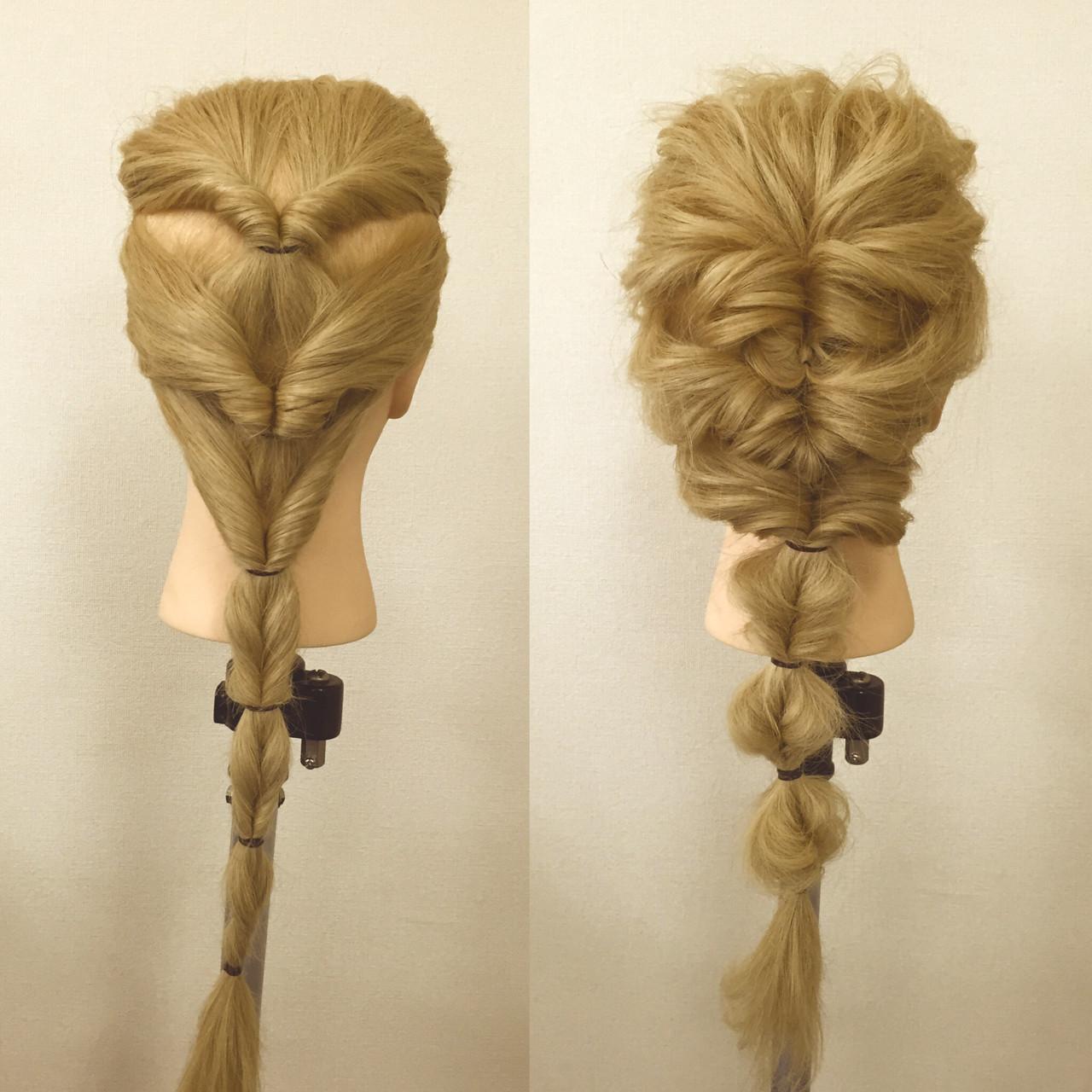 最短時間は1分!誰でもできる簡単編み込み風ヘアアレンジ♡ 佐藤 允美 / Hair Space ACT LOCALLY