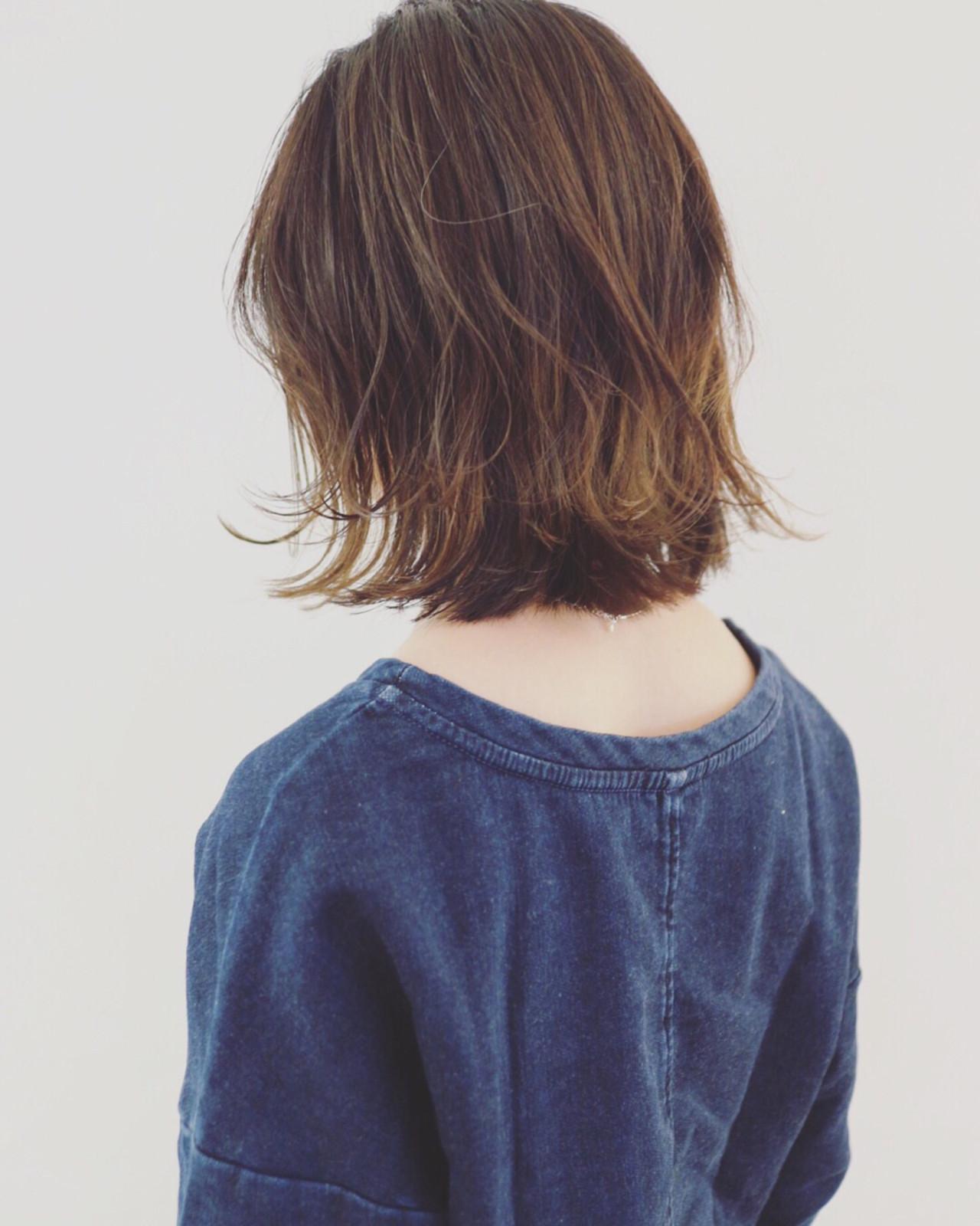 インナーカラー グラデーションカラー バレイヤージュ ストリート ヘアスタイルや髪型の写真・画像 | 三好 佳奈美 / Baco.(バコ)