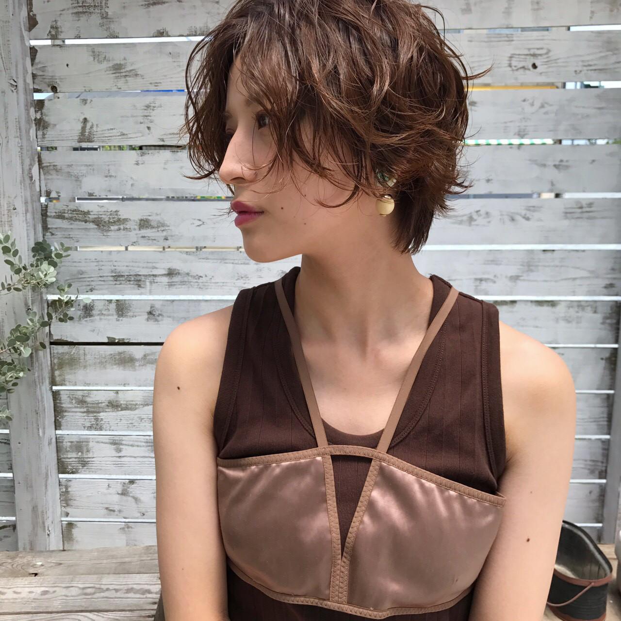 秋 色気 透明感 夏ヘアスタイルや髪型の写真・画像