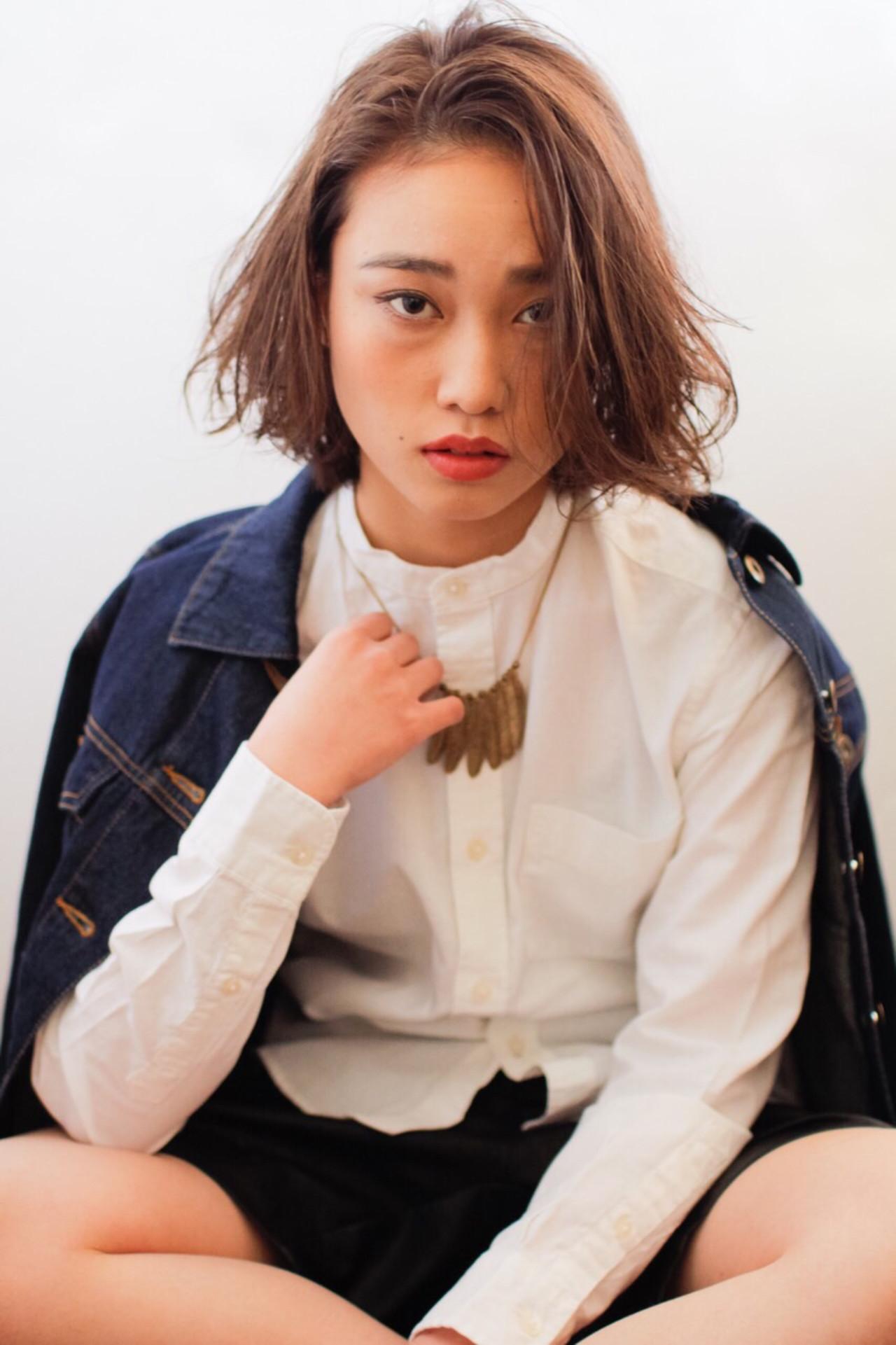 外国人風 ハイライト ストリート 大人かわいいヘアスタイルや髪型の写真・画像