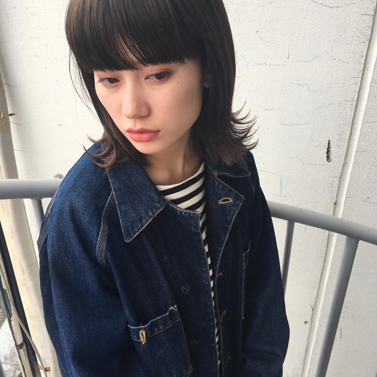 ショートボブ ストリート ボブ 切りっぱなし ヘアスタイルや髪型の写真・画像 | KEISUKE 【フリーパーソナルカラリスト】 / BellaDolce free-lance