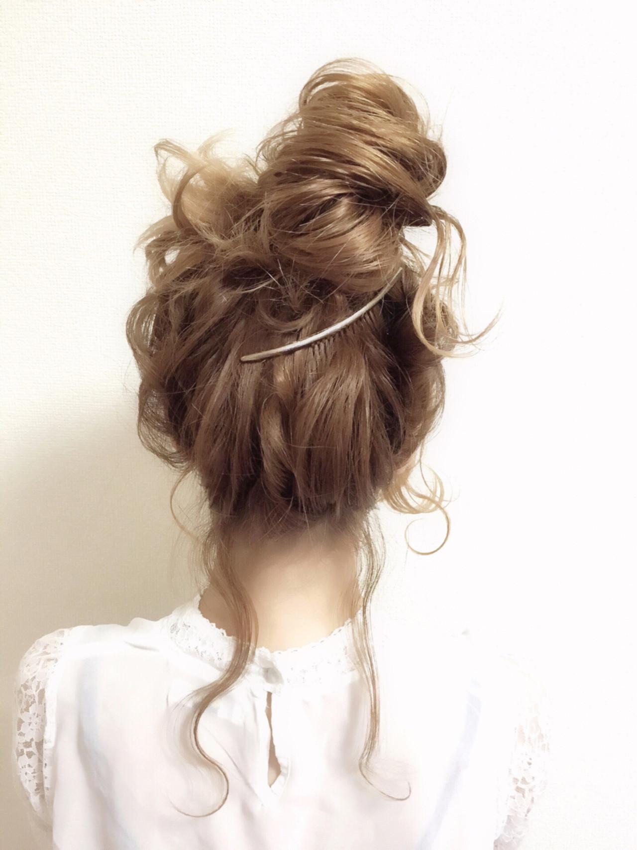 結婚式にも!ミディアムヘアの簡単お呼ばれアレンジ chiaki / magnet hair