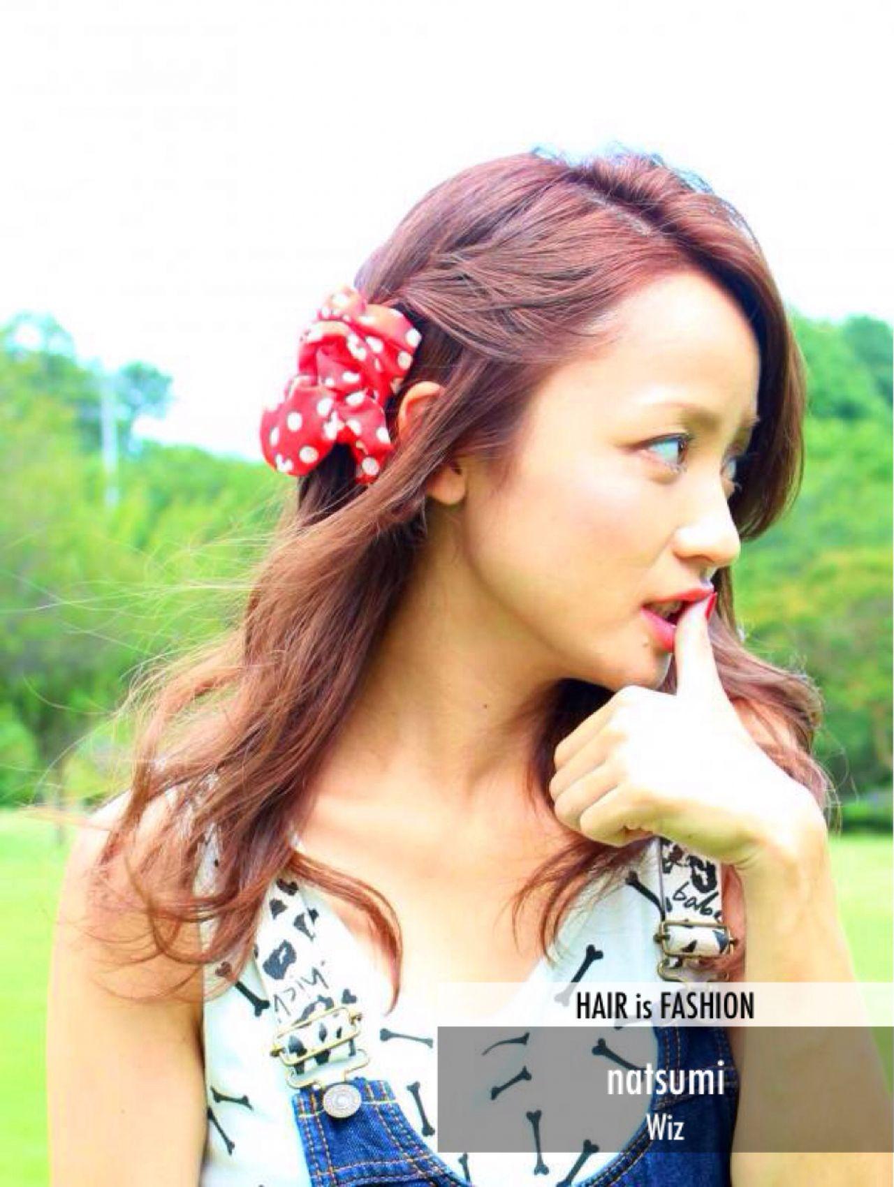 モテ髪 ウェットヘア 愛され ガーリー ヘアスタイルや髪型の写真・画像 | natsumi / Wiz富里店