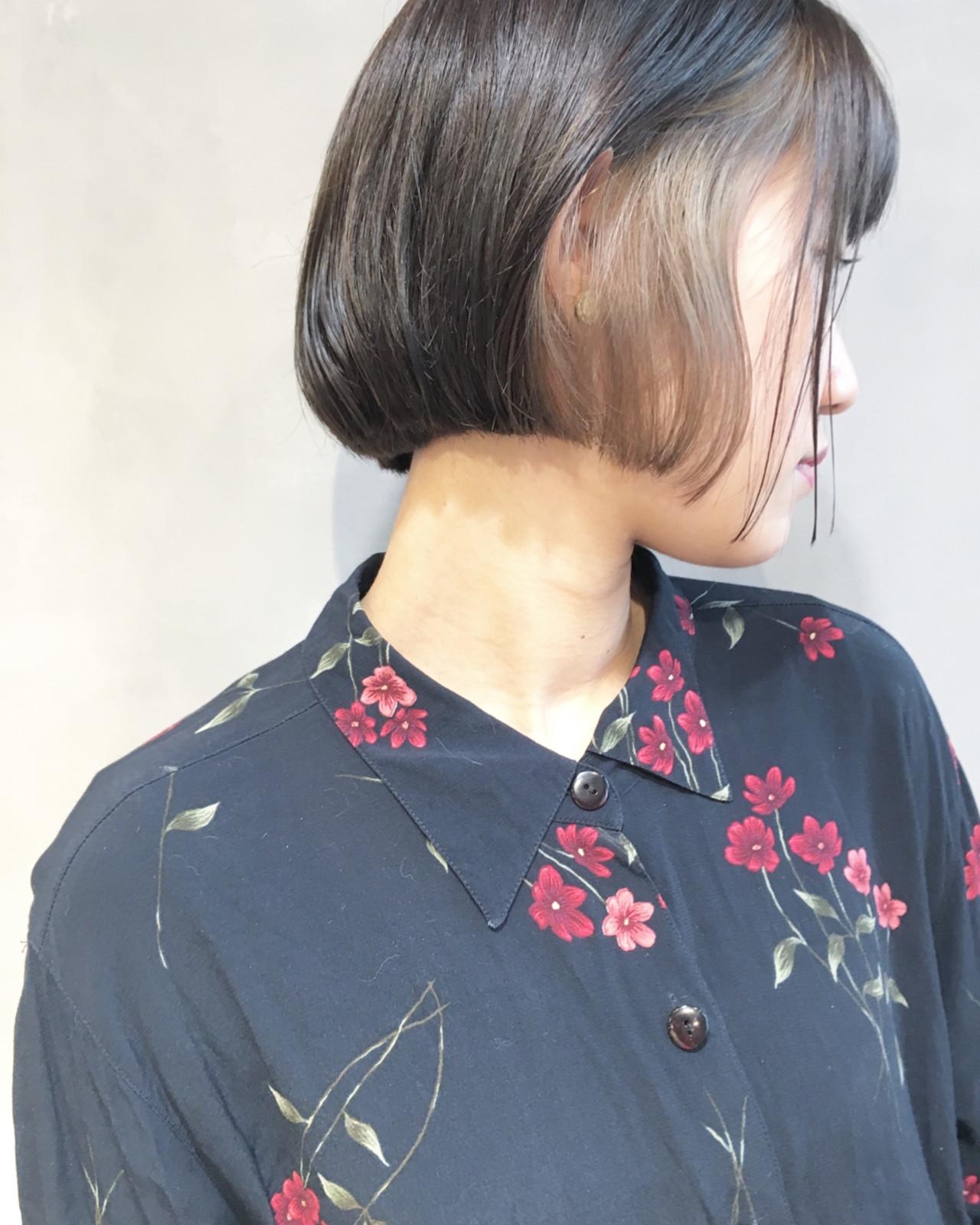 小顔 こなれ感 外国人風 ナチュラルヘアスタイルや髪型の写真・画像