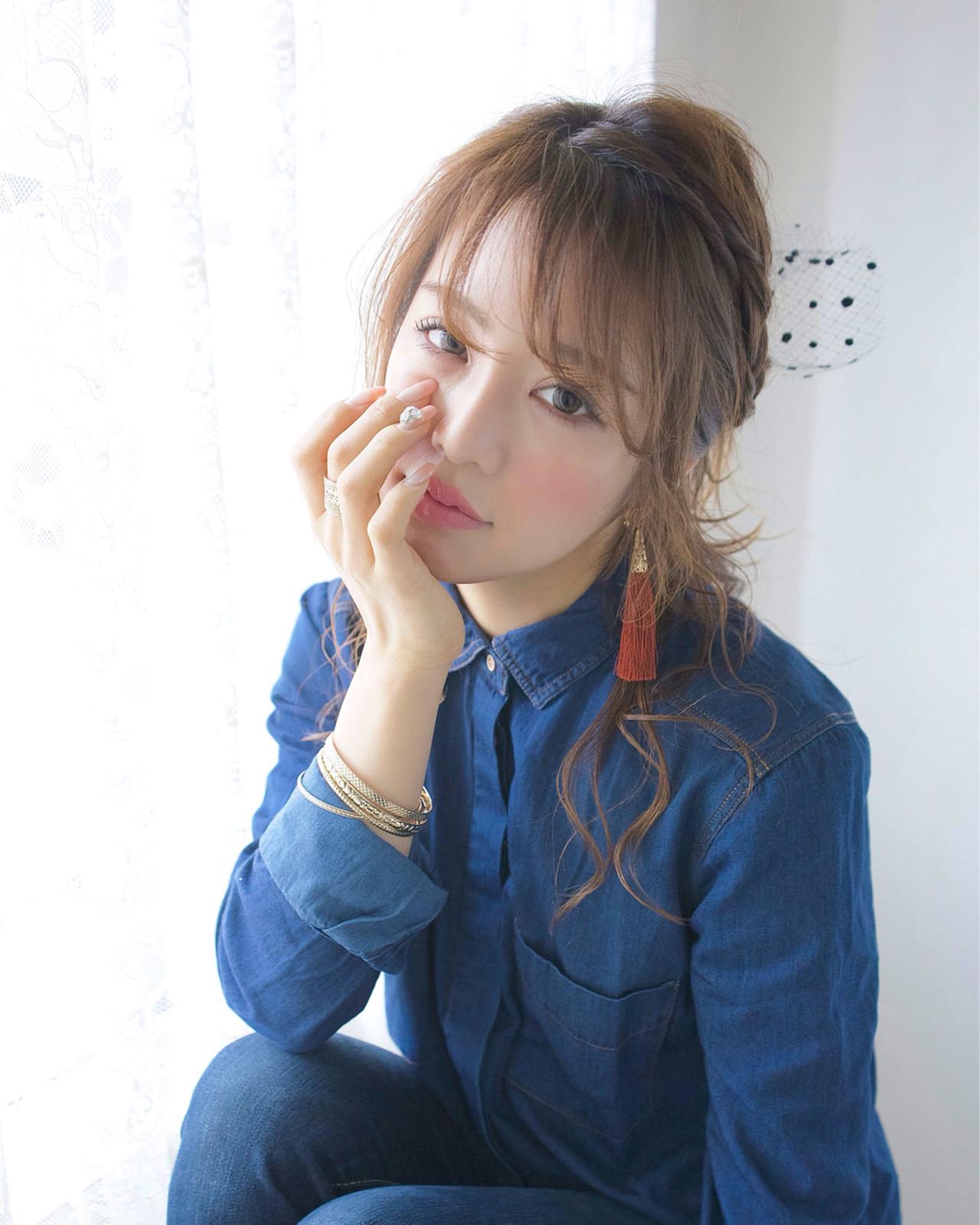 韓国で流行りの「복숭아メイク(桃メイク)」、日本にも上陸か・・・!?♡ 村松彩 / ojiko.