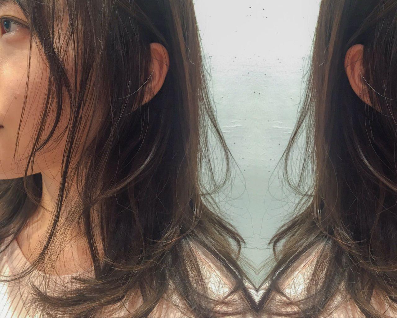 ロング 外国人風 ゆるふわ アッシュ ヘアスタイルや髪型の写真・画像   【SHIMA】モチナガヤスヒロ / SHIMA daikanyama