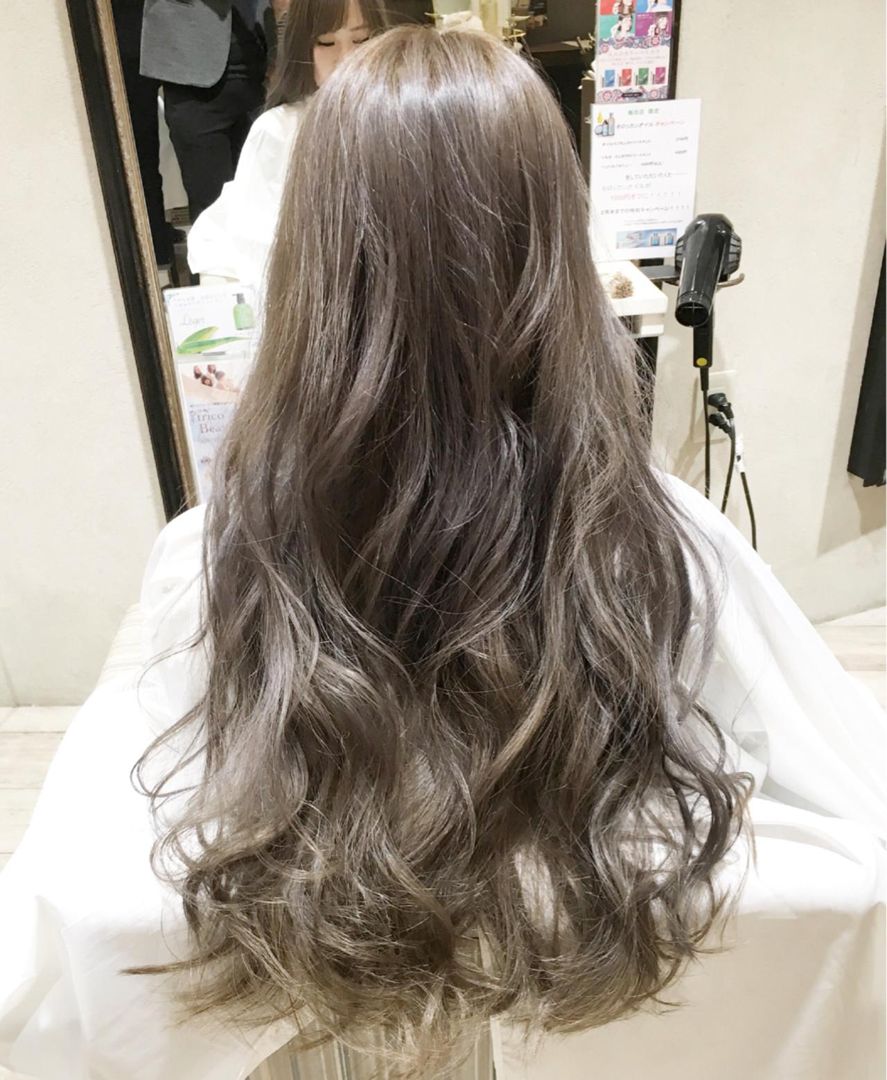外国人風 グラデーションカラー 暗髪 ゆるふわ ヘアスタイルや髪型の写真・画像 | 山本健太 / trico 梅田茶屋町店