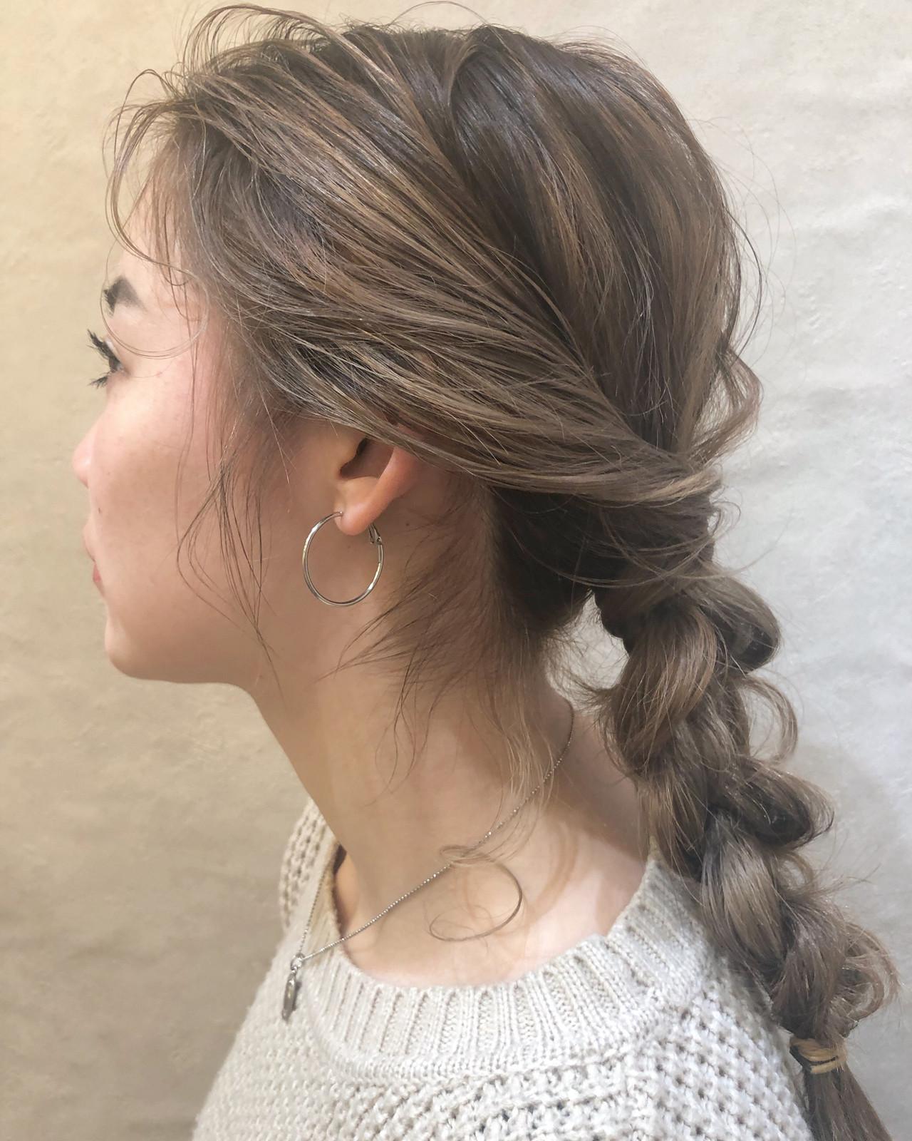 ヘアアレンジ オフィス デート 結婚式 ヘアスタイルや髪型の写真・画像 | 安永怜 / kakimotoarms田園調布