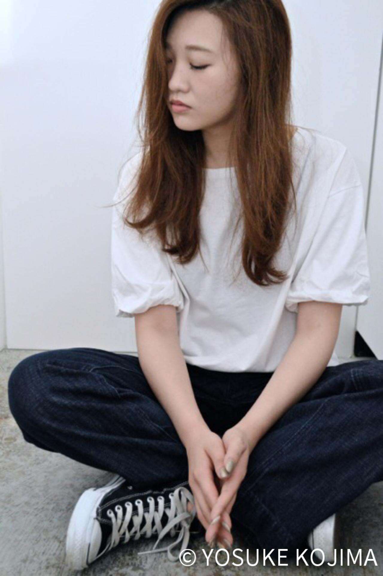 アッシュ モード ナチュラル 暗髪 ヘアスタイルや髪型の写真・画像 | YOSUKE KOJIMA / CONO HAIR