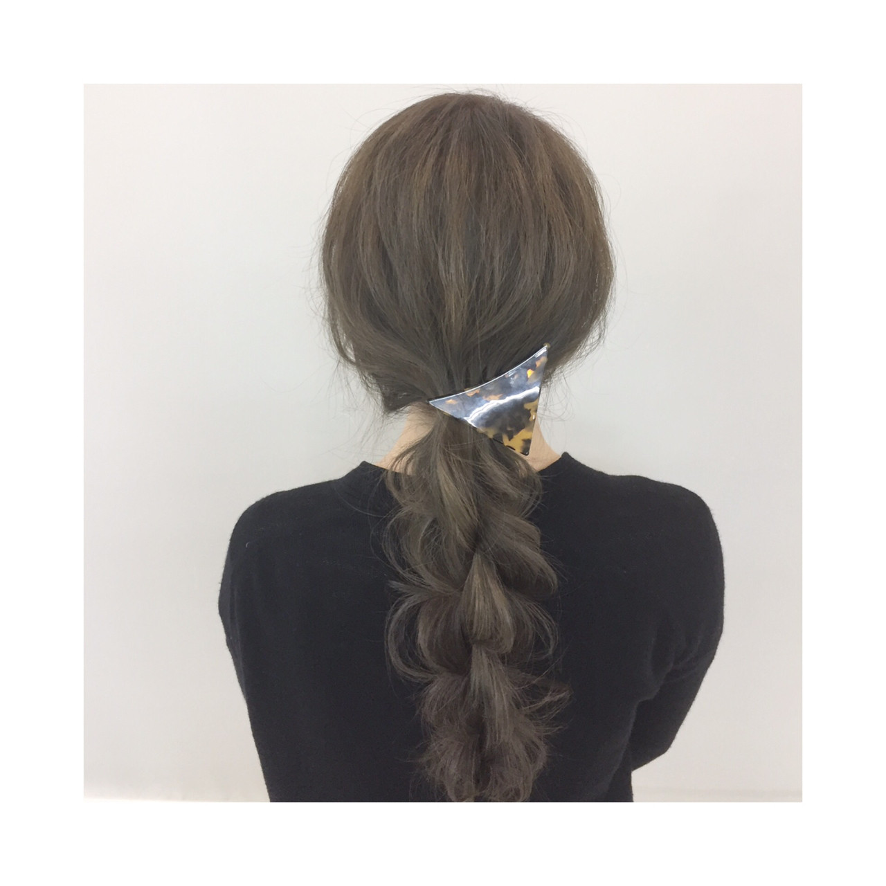 簡単 ロング 簡単ヘアアレンジ 大人かわいい ヘアスタイルや髪型の写真・画像 | 新谷 朋宏 / Free hairstylist shinya