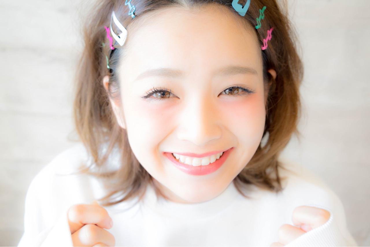 ヘアアレンジ ガーリー ボブ ゆるふわ ヘアスタイルや髪型の写真・画像   ウラタニ アキナリ / ミラレスカ栄