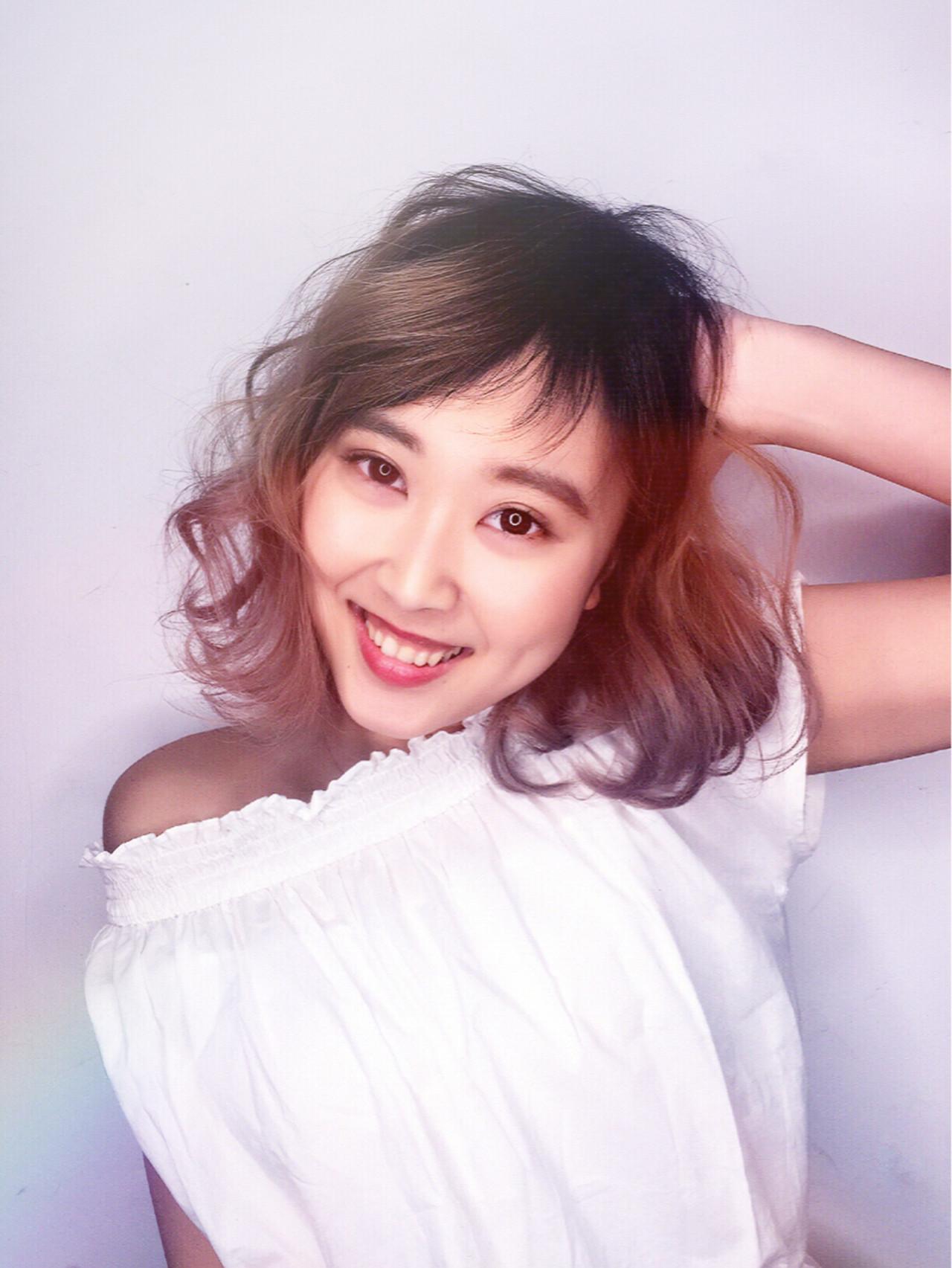 こなれ感 フェミニン 色気 ボブ ヘアスタイルや髪型の写真・画像   筒井 隆由 / Hair salon mode
