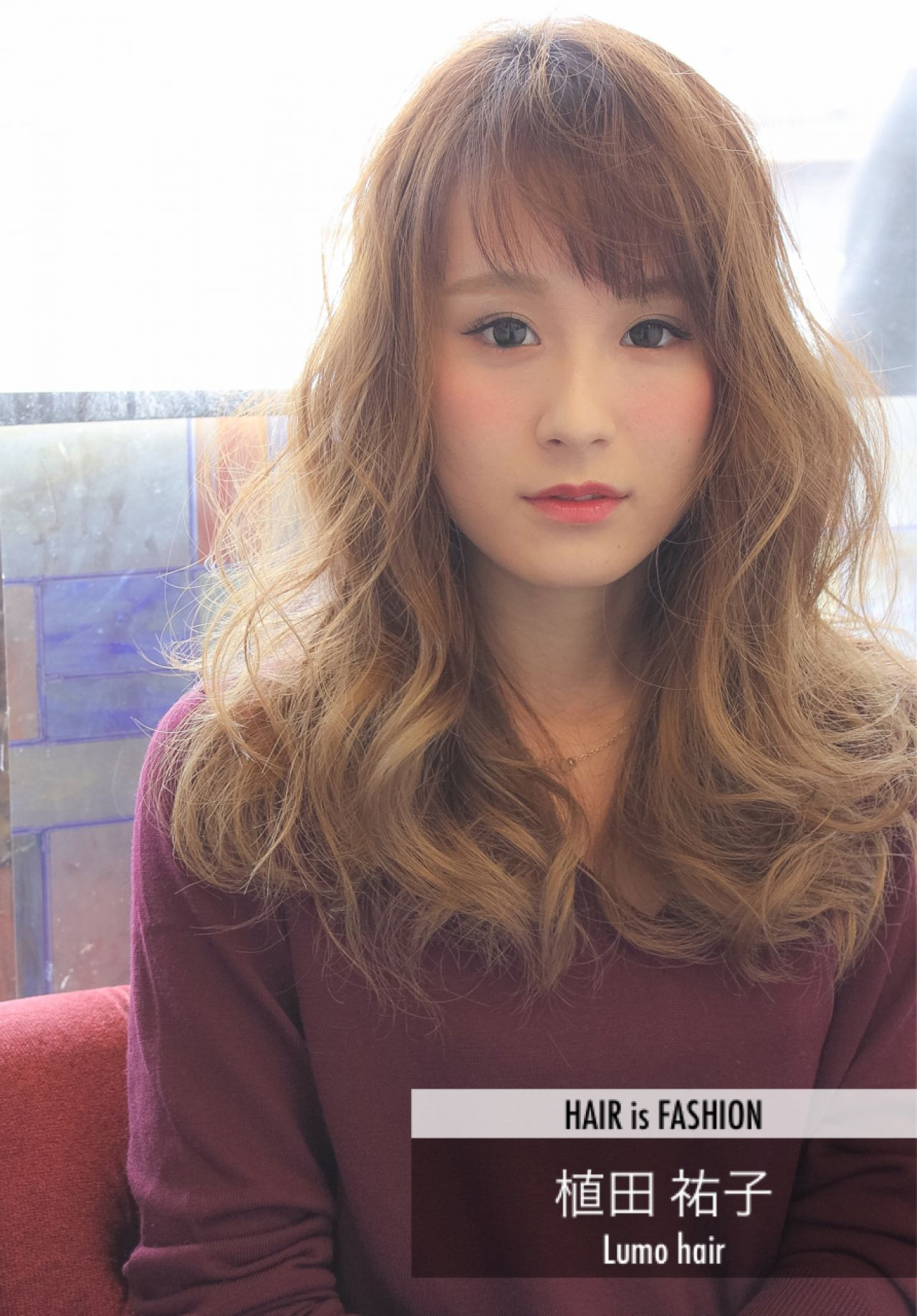 大人かわいい モテ髪 愛され フェミニン ヘアスタイルや髪型の写真・画像 | 植田 祐子 / Lumo hair
