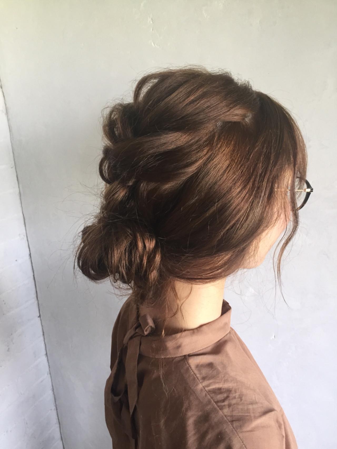 ヘアアレンジ 夏 ナチュラル お祭り ヘアスタイルや髪型の写真・画像 | マツモト マサミ / Belle BIANCA