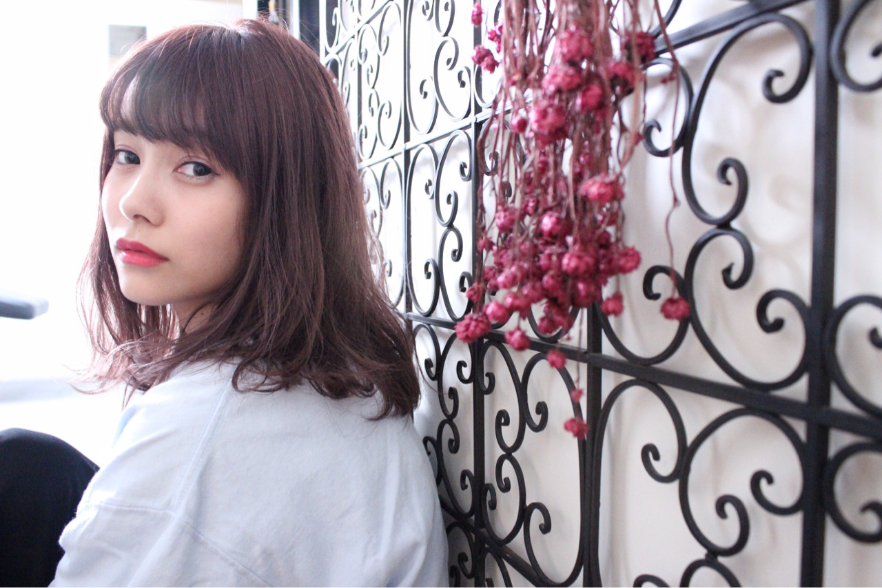 ニュアンス アンニュイ 透明感 外国人風 ヘアスタイルや髪型の写真・画像 | 上田智久 / ooit 福岡 天神 / ooit