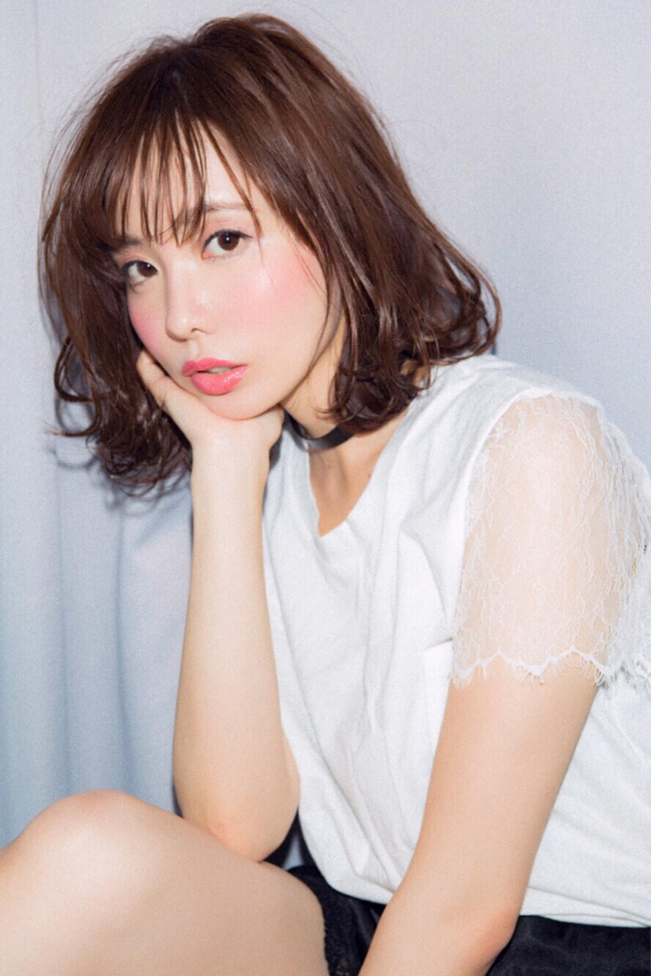 ナチュラル 色気 アンニュイ 大人女子 ヘアスタイルや髪型の写真・画像 | 小幡 元 / Euphoria shibuya GRANDE