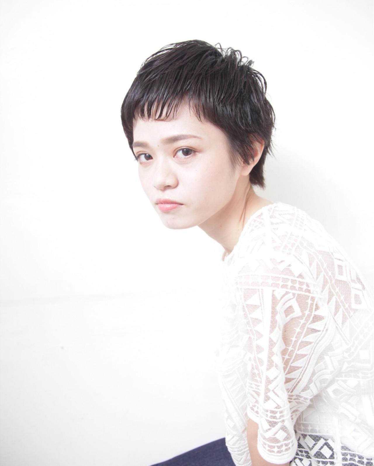 """ただの黒髮じゃない""""アッシュブラック""""にうっとり♡。ブリーチなしでもOK 津村正和/Baco./大阪"""