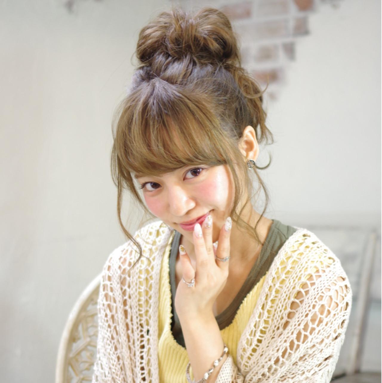 ミディアム ハーフアップ ピュア ショート ヘアスタイルや髪型の写真・画像 | 西川 賢一 blast / blast