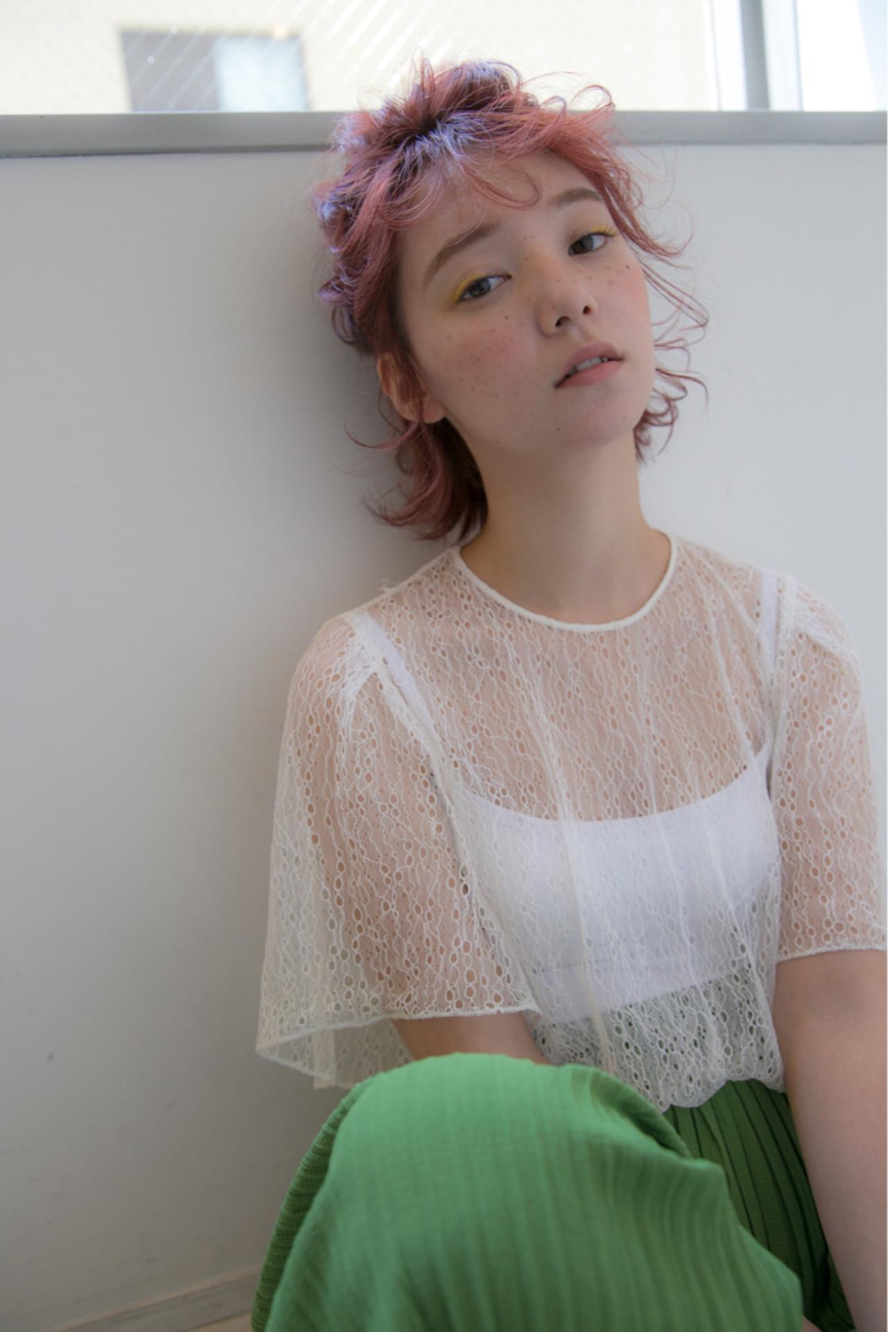 ヘアアレンジ 寝癖 ボブ 大人女子 ヘアスタイルや髪型の写真・画像 | KO-39 / LESS