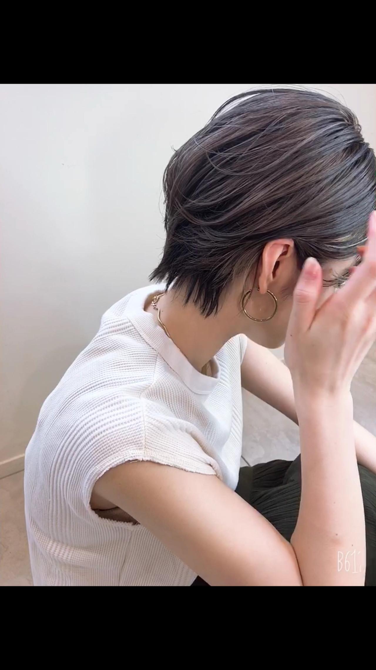 外国人風カラー バングインナーカラー インナーカラー アンニュイほつれヘア ヘアスタイルや髪型の写真・画像 | 高沼 達也 / byトルネード / トルネード