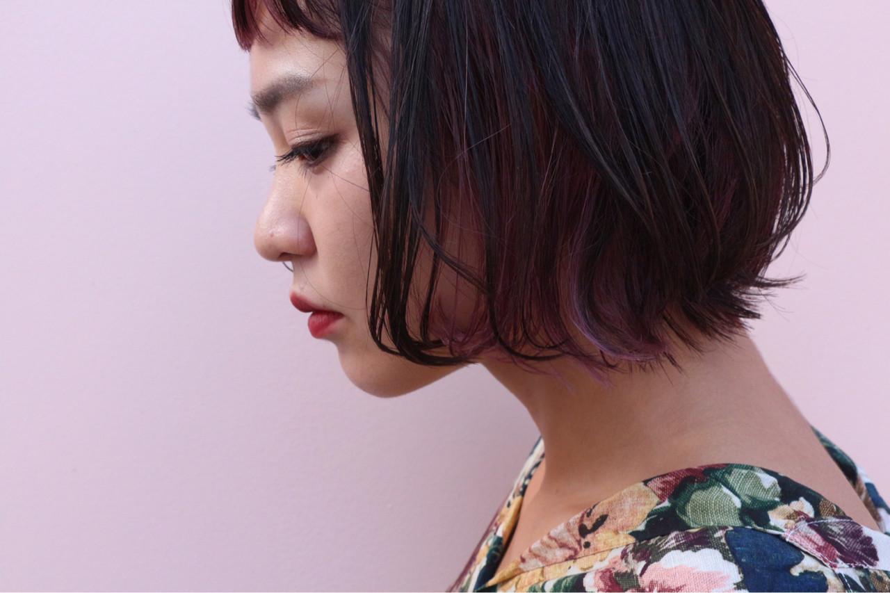 大人かわいい インナーカラー グラデーションカラー ストリート ヘアスタイルや髪型の写真・画像   ◆Takumi◆ / Beronica