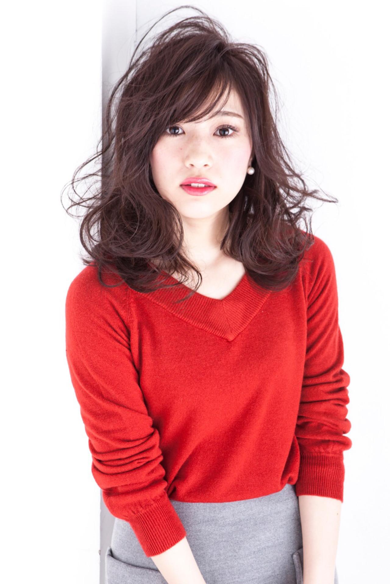 イルミナカラー 大人かわいい フェミニン ニュアンス ヘアスタイルや髪型の写真・画像 | 長井 浩気 / ilio-hair atelier-