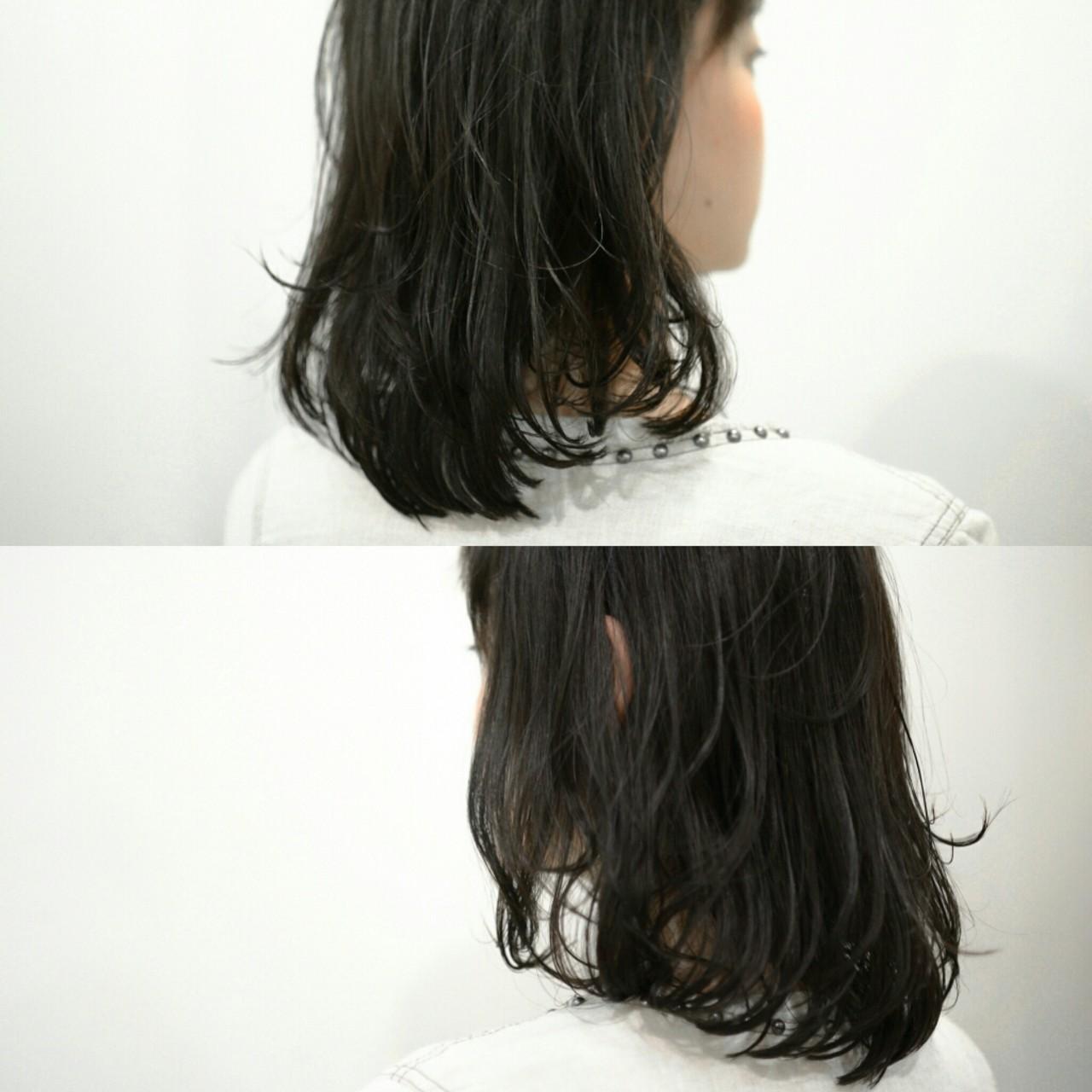 ふわふわ アッシュ ニュアンス 前髪ありヘアスタイルや髪型の写真・画像