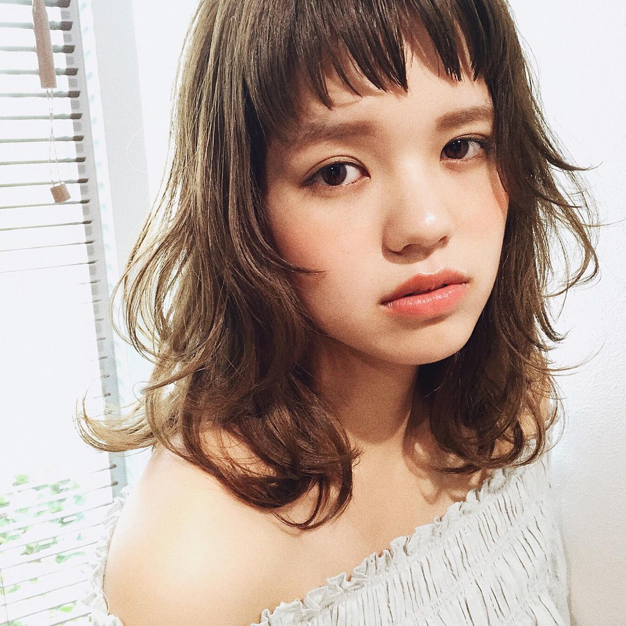 頑張らなくても色気たっぷり♡媚びない女の束感ヘア。 谷口 翠彩 / QUEEN'S GARDEN by k-two GINZA